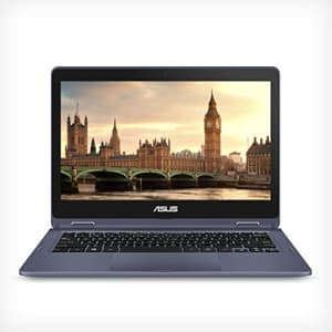 """ASUS VivoBook Flip Thin and Light 2-in-1 Laptop - 11.6"""" HD Touchscreen, Intel Dual-Core Celeron for $450"""