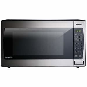 Panasonic Microwave Oven NN-SN966S Stainless Steel Countertop/Built-In with Inverter Technology and for $213
