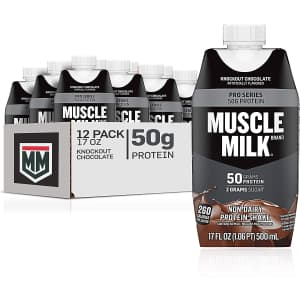 Muscle Milk Powders and Shakes at Amazon at PepsiCo via Amazon: up to 35% off w/ Prime + 5% off via Sub & Save