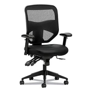 HON VL536MST3 Prominent High-Back Task Chair Asynchronous Tilt Control Black Mesh for $364