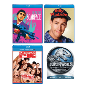 Blu-ray Warehouse Clearance at Gruv at GRUV: from $3.19