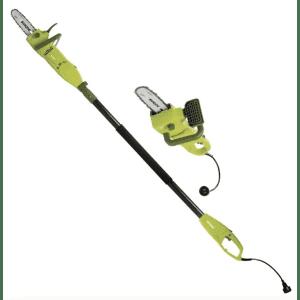 Sun Joe 2-in-1 Electric Convertible Pole Chain Saw for $57