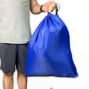 Drawstring Storage / Laundry Bags 2-Pack for $5