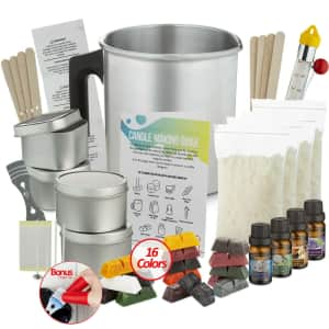 Candle Making Kit for $50