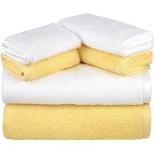 Semaxe 6-Pc. Bath Towel Set for $20
