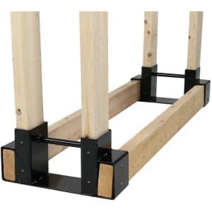Sunnydaze Decor Firewood Log Rack Bracket Kit for $39