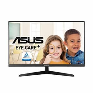 ASUS VY279HE 27 Eye Care Monitor, 1080P Full HD, 75Hz, IPS, 1ms, Adaptive-Sync/FreeSync, Eye Care for $240