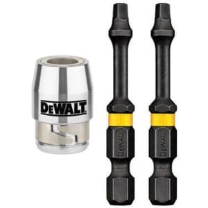 DEWALT ACCESSORIES DWA2SQ2IR2S SQ #2 Bit/Sleeve (2 Pack) for $8