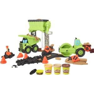 Play-Doh Wheels Gravel Yard Construction Playset for $15