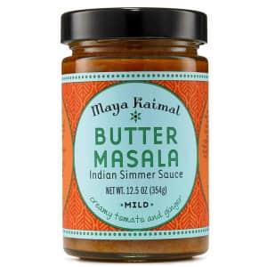Maya Kaimal Butter Masala Sauce for $2.99 via Sub & Save