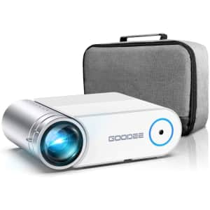 GooDee 2021 G500 720p Video Projector for $130