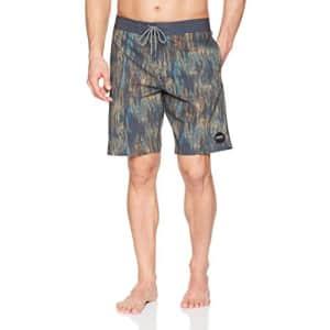 O'NEILL Men's 19 Inch Outseam Cruzer Stretch Swim Boardshort, Richter Dark Navy/Printed, 28 for $44