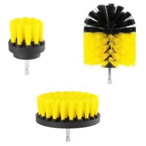 3-Piece Scrub Brush Drill Attachment Kit for $6