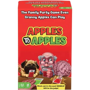 Mattel Apples to Apples Card Game for $10