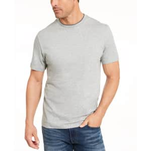 Club Room Men's Layered-Look T-Shirt for $6