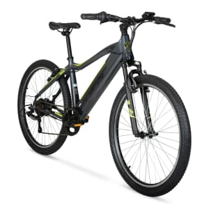 """Hyper Bicycles 26"""" E-ride Electric Hybrid Mountain Bike for $578"""