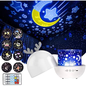 Merece Musical Night Light Projector for $13