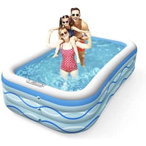 Cooyes Inflatable Swimming Pool for $35