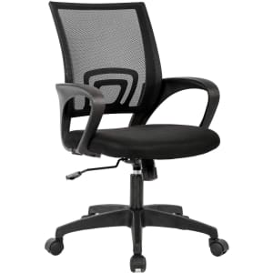 BestOffice Executive Mid-Back Office Chair for $37