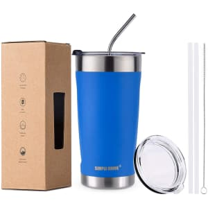Simple Drink 20-oz. Stainless Steel Insulated Tumbler for $10