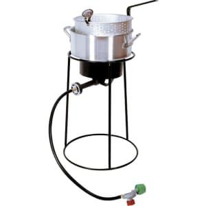 """King Kooker 22"""" Portable Propane Outdoor Cooker for $89"""