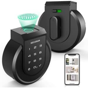 Securam Touch Smart Keyless Lock Deadbolt for $161
