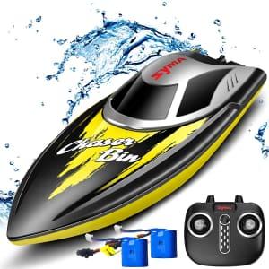 Syma Q7 Remote Control Boat for $32