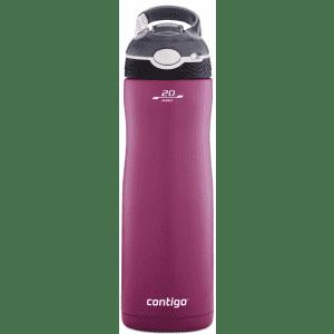 Contigo Autospout Straw Ashland 20-oz. Insulated Water Bottle for $11
