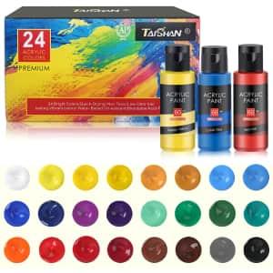 Taishan 2-oz. Acrylic Paint 24-Pack for $13