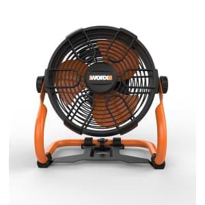 """Worx 20V Power Share 9"""" Cordless Fan Kit for $69 for members"""