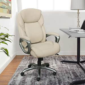 Serta My Fit Executive Office Tailored Reach Back Support, Ergonomic Chair with Adjustable Lumbar, for $462