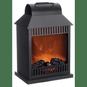Paradise Lighting Flameless Fireplace Lantern for $20
