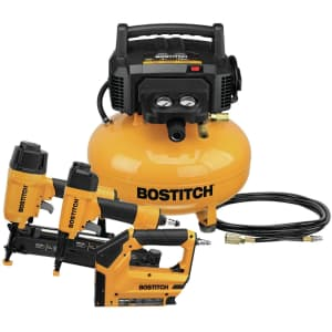 Bostitch Air Compressor 3-Tool Combo Kit for $190