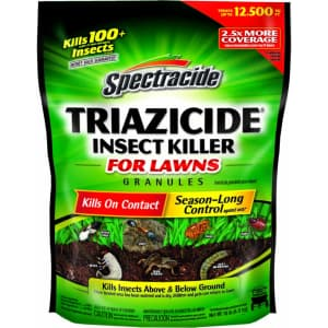 Spectracide Triazicide Insect Killer 10-Lb. Bag for $7