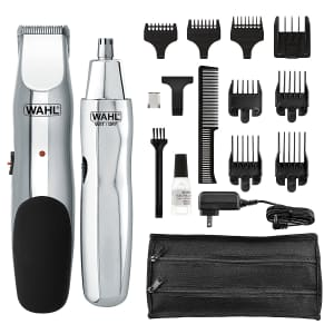 Wahl Groomsman Rechargeable Hair Trimmer for $34