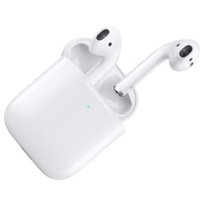 2nd-Gen Apple AirPods w/ Wireless Charging Case for $160