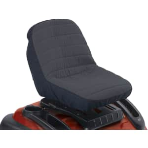 Classic Accessories Deluxe Riding Lawn Mower Seat Cover for $22