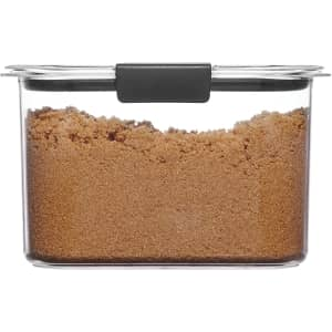 Rubbermaid Brilliance 7.8-Cup Food Storage Container for $10