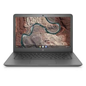 HP Chromebook 14-inch Laptop with 180-Degree Swivel, AMD Dual-Core A4-9120 Processor, 4 GB SDRAM, for $174