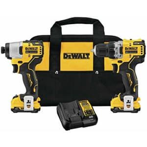 DEWALT XTREME 12V MAX Cordless Drill Combo Kit (DCK221F2) for $199