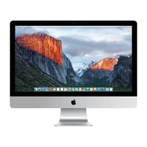 """Apple iMac MK482LL/A 6th gen Core i5 3.2GHz 27"""" all-in-one desktop w/ 8GB RAM & 1GB HDD for $899"""