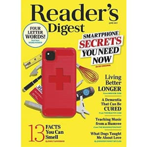 Reader's Digest 1-Year Subscription: $5