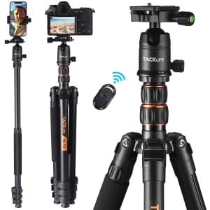 """Tacklife 77"""" Tripod with Monopod for $50"""