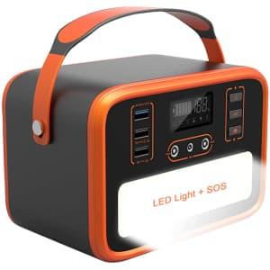 Necespow 50,400mAh Solar Portable Power Station for $130