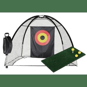 JEF World of Golf Complete Home Practice Range for $126
