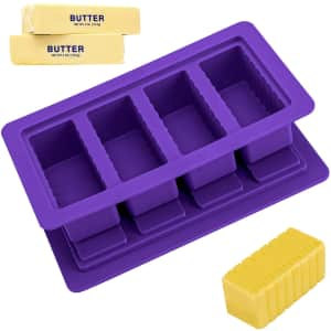 Ytuomzi Butter Mold with Lid for $9