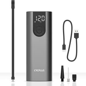 Cycplus 150 PSI Portable Air Compressor for $30