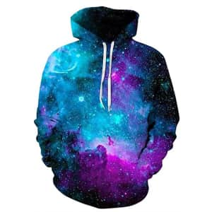 Newcosplay Unisex Novelty 3D Hoodie for $16