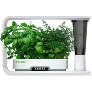Aspara Smart Hydroponic Indoor Growing System for $100