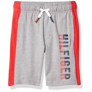 Tommy Hilfiger Kids Boys' Logo Drawstring Pull-On Short, Grey Heather, 2T for $82